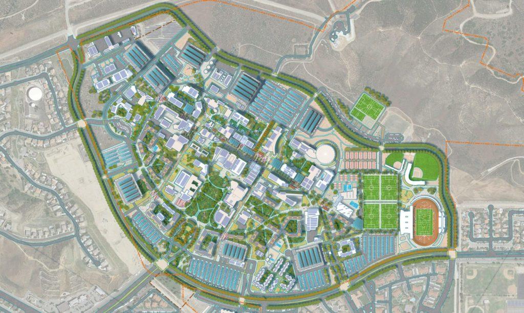 cal state san bernardino campus map California State University San Bernardino Campus Master Plan cal state san bernardino campus map